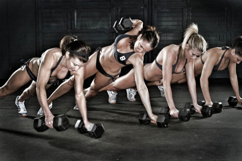 1 crossfit push up