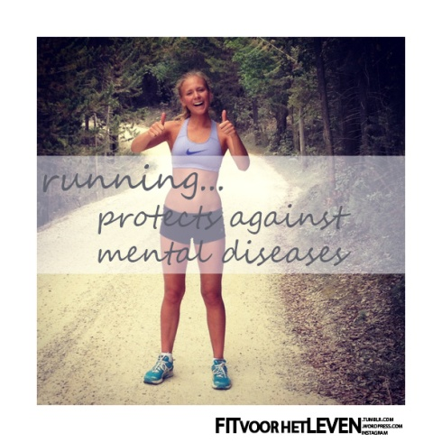 running protects from mental diseases