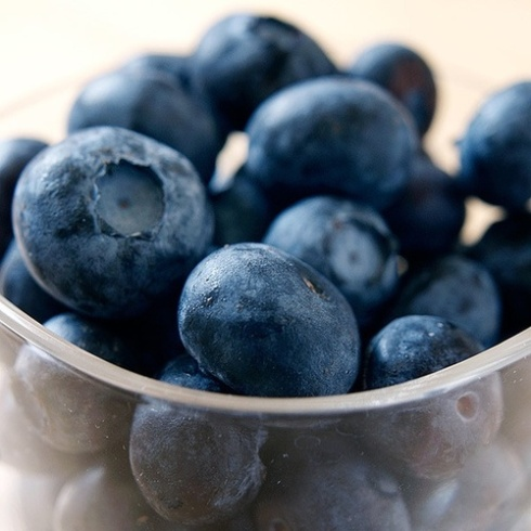 1 fruit blueberries