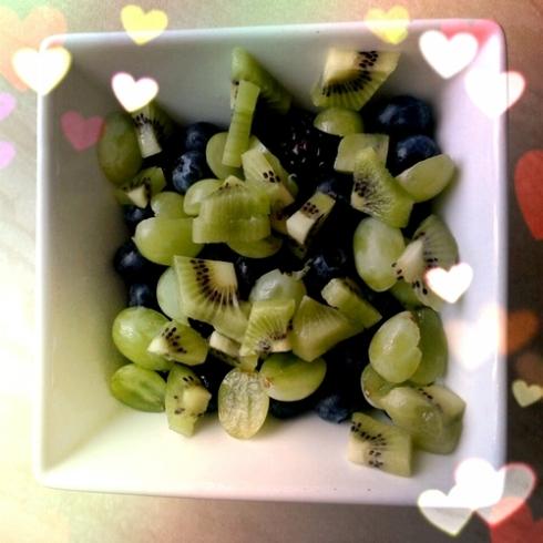 1 fruit salad
