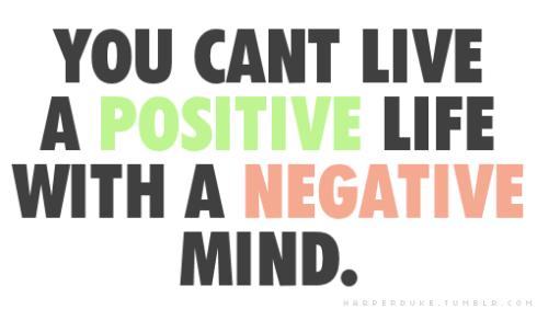 1 think positive arthlete