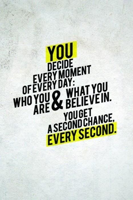 1 you decide