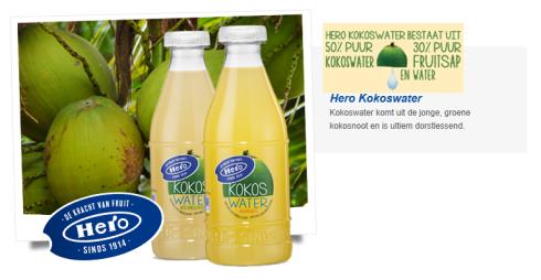 hero kokoswater