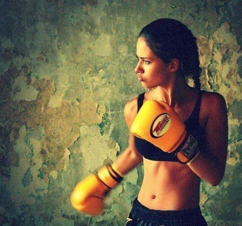 0 kickbox meisje