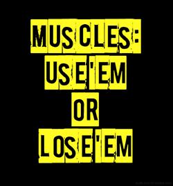 2 train je spieren