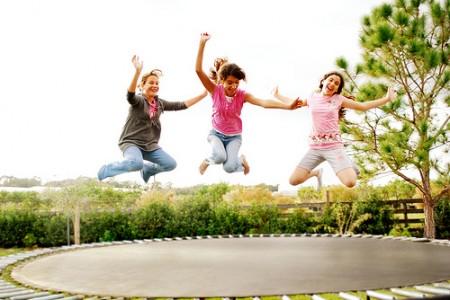 5 sterke botten trampoline