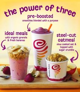 0 jamba juice the power of three