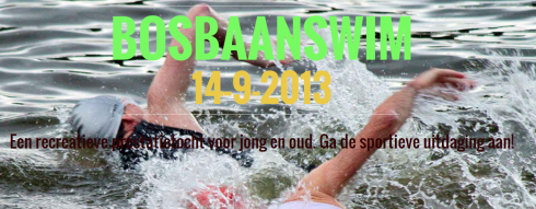 Bosbaanswim 2013