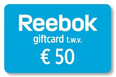 Reebok giftcard