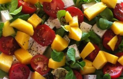 Tessa mango salade