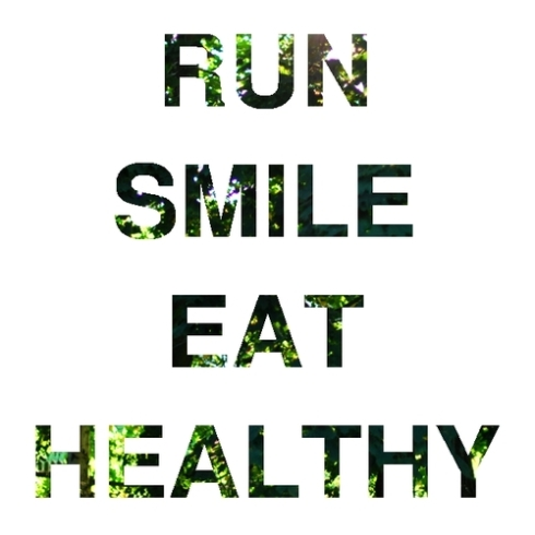 run and smile