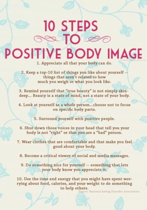 zondag positive body image
