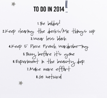 to do in 2014 - sabrina