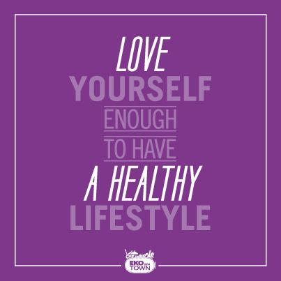 ekotown healthy lifestyle