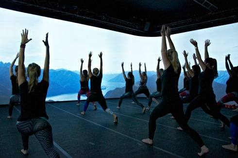 immersive fitness yogales